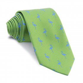 Corbata Verde Flamencos