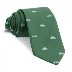 Corbata Verde Coches Celestes
