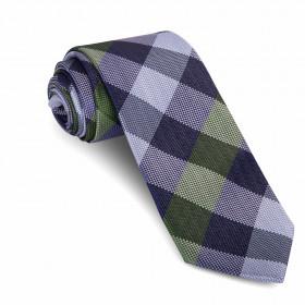 Corbata Cuadros Verde