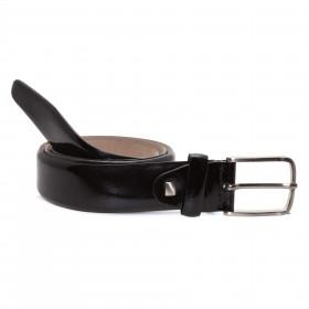 Cinturón Charol Negro PARA HOMBRE
