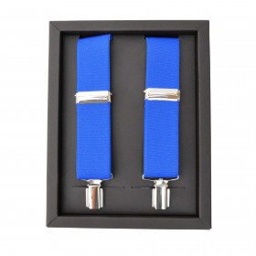 Tirantes Color  Azulón