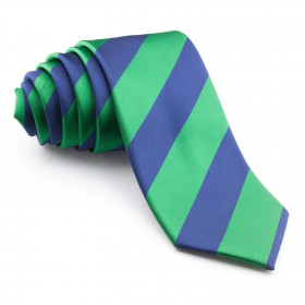 Corbata Rayas Verdes y Azules