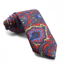 Corbata Roja Cachemir