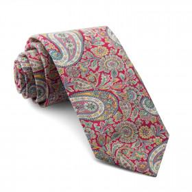 Corbata Liberty Cachemir Fucsia