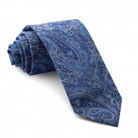 Corbata Liberty Cachemir Azul
