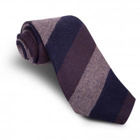 Corbata Rayas Marrón