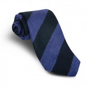Corbata Rayas Marino Azul