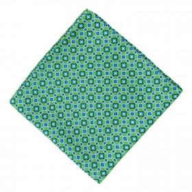 Pañuelo Verde Dibujos Marino