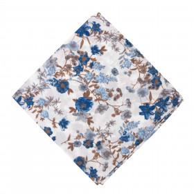 Pañuelo Blanco Flores