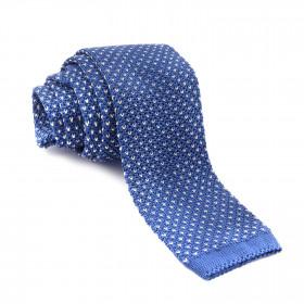 Corbata Punto Azul